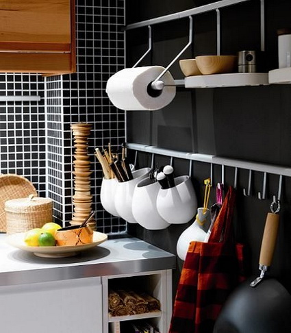 Storage in small kitchens 2