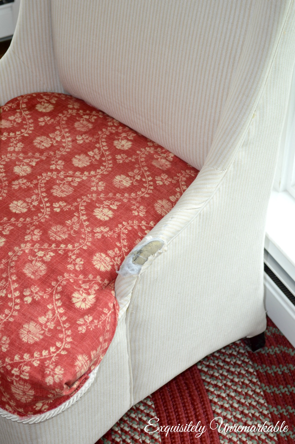 Easy Upholstery Chair Tear Fix