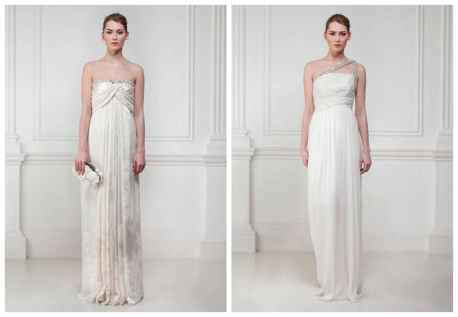 Boho Grecian Wedding Dresses By Matthew Williamson