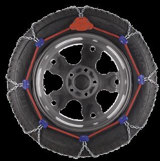 Chaînes à tension automatique pour pneus