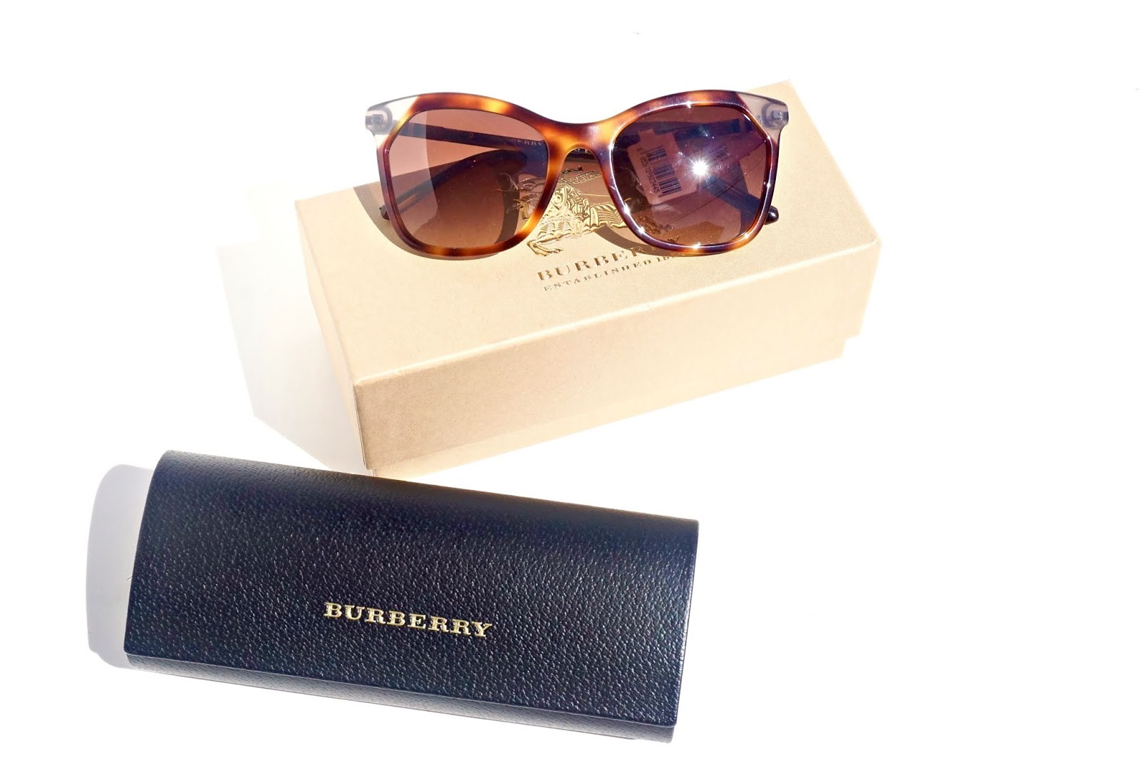 Burberry Heritage 54mm Square Sunglasses Nordstrom