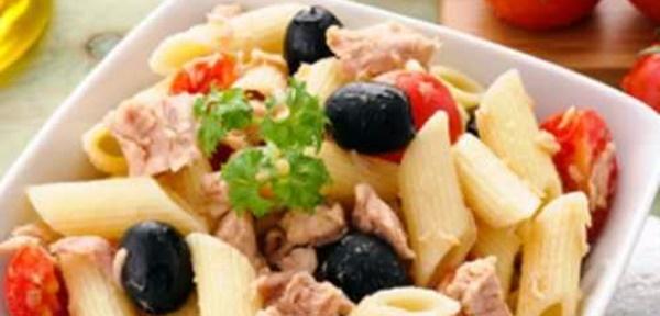 Pasta Tonno Zucchine E Olive