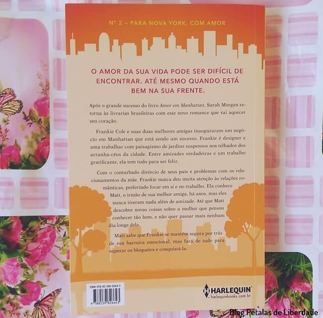 Resenha, livro, Por-do-Sol-no-Central-Park, Sarah-Morgan, Harlequin, sinopse