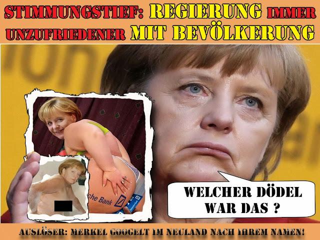 Angela Merkel im Internet - lustige Spaßbilder Satire