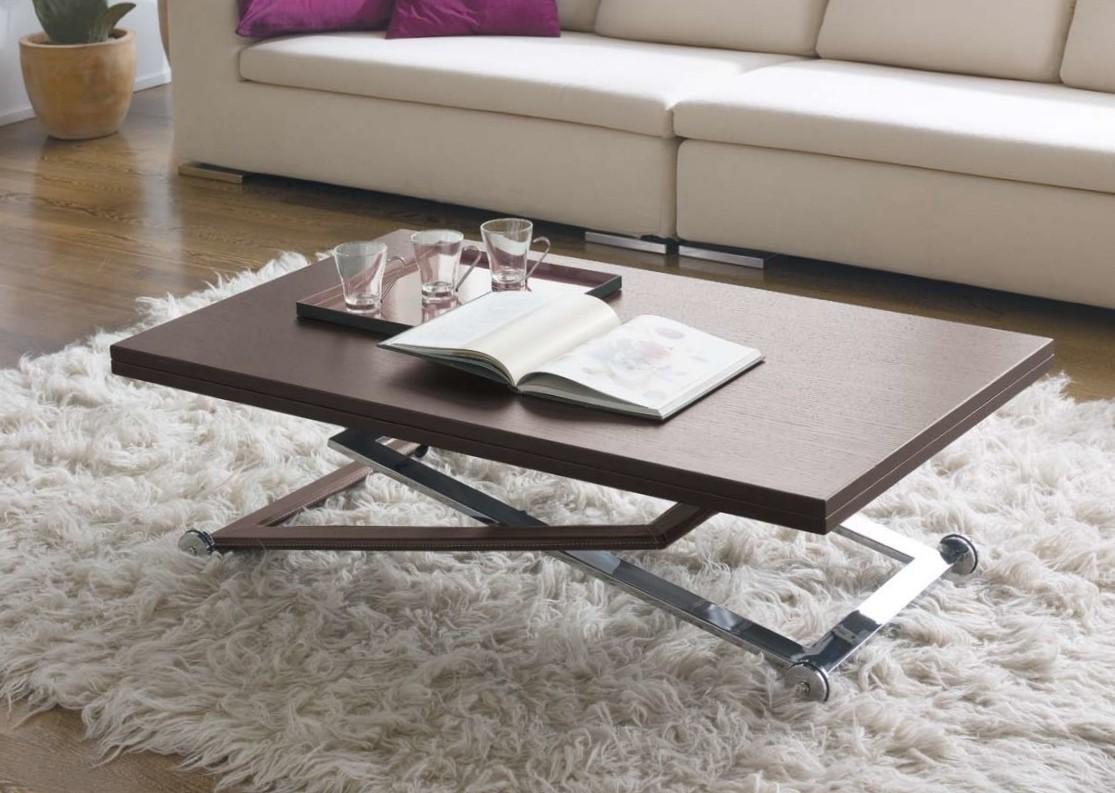 Decoracion mueble sofa: Mesa de centro elevable y extensible ...
