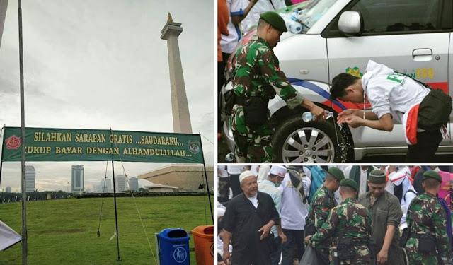 3 Langkah Keren Jelang Reuni Akbar 212, TNI Makin Dicintai Umat Islam