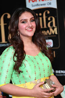 Sridevi Telugu Actressi in green Yellow Anarkali Dress at IIFA Utsavam Awards 008.JPG