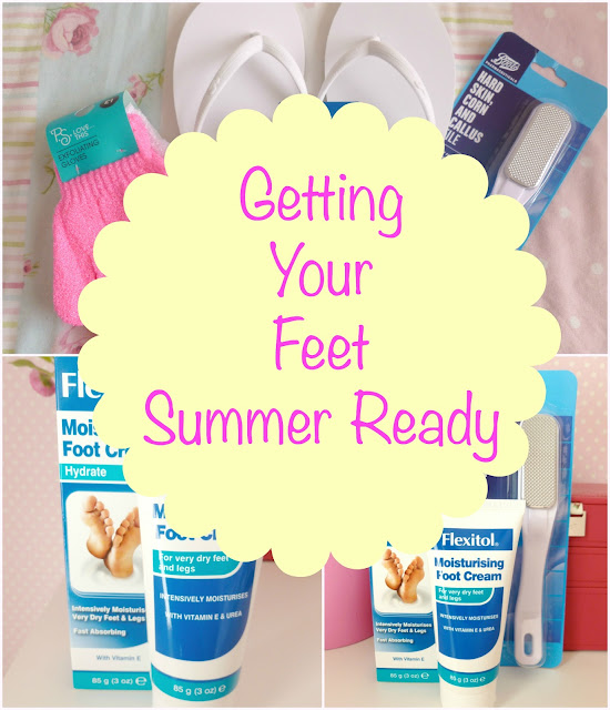 Getting Your Feet Summer Ready