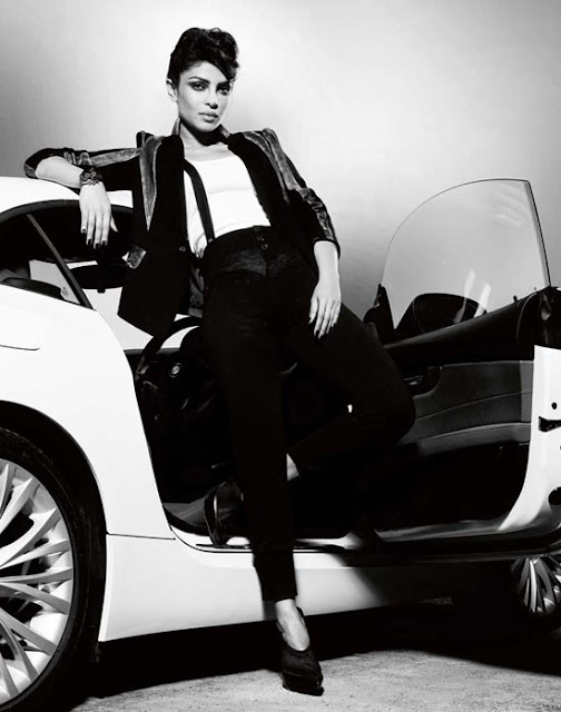 Priyanka Chopra Harper's Bazaar 2011 April Magazine Photos