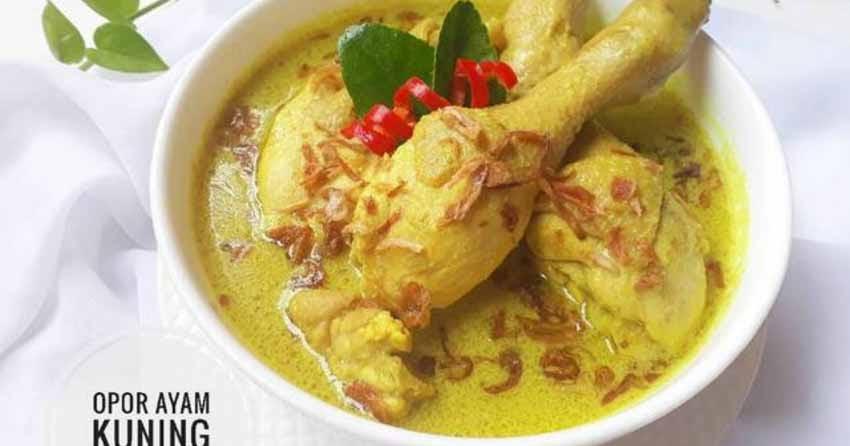 Resep Opor Ayam Kuning By Sukmawati Rs Kompinikmat