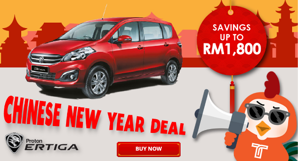 Chinese New Year Deal - Beli Kereta di Tookar.MY