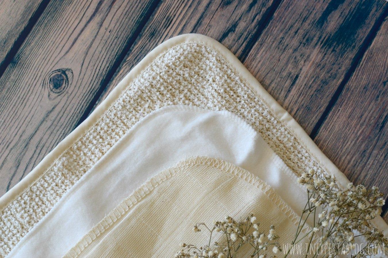 Muselina paño doble limpieza algodón bambú manteca limpiadora bálsamo limpiador eve lom evelom