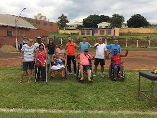 Delegação paralímpica de Ourinhos participa de primeira competição nacional