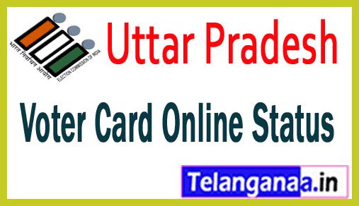 UP Voter Id Card Online Status Uttar Pradesh Voter Card Online Status