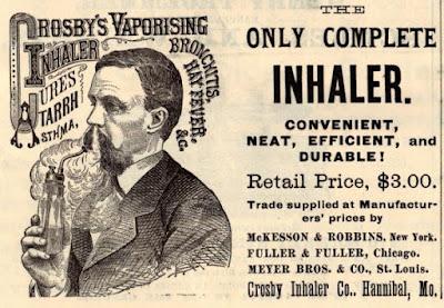 Crosby's Vaporising Inhaler