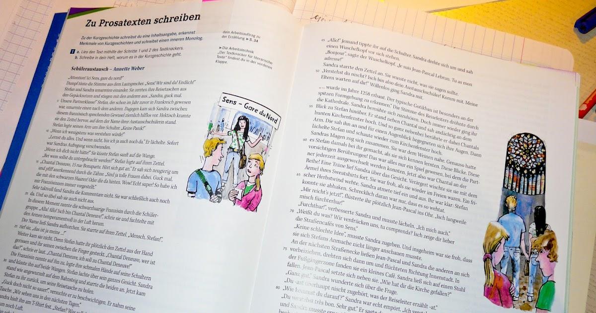 Annetteweber Blog Die Kurzgeschichte Schüleraustausch