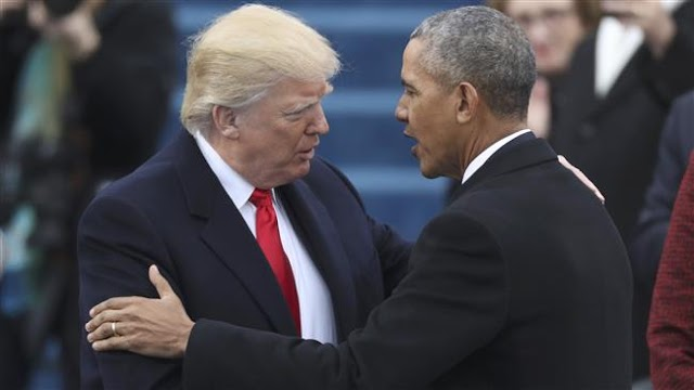 US President Donald Trump  lashes out at Barack Obama, demands apology
