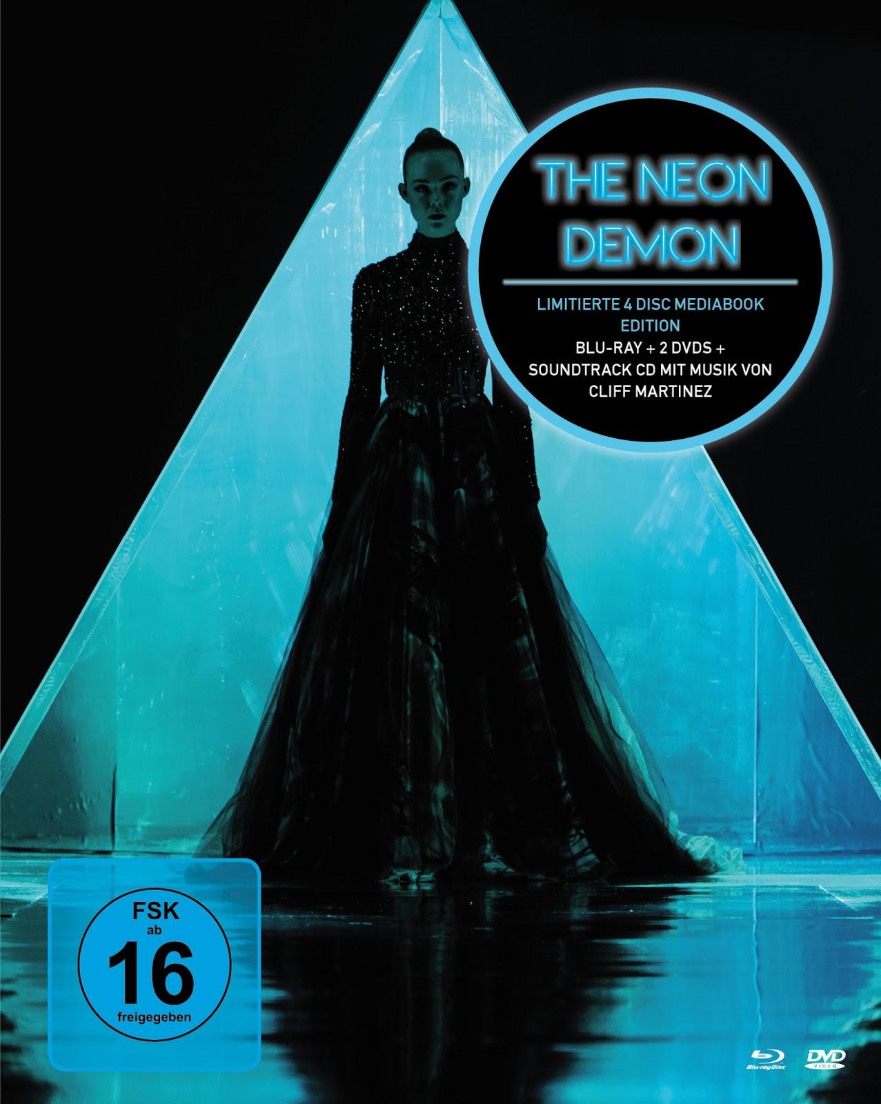 6 Strings 24 Frames: Nicolas Winding Refns THE NEON DEMON Mediabook