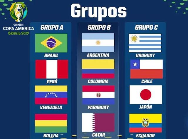 La competición más longeva vuelve a su ruedo, nos referimos a la Copa América 2019 en su 46 edición a realizarse en Brasil, sin duda uno de los torneos más prestigiosos en el mundo con participación de diez selecciones de Sudamérica con invitación de dos escuadras de Asia y África. Se apertura este evento desde el 14 de junio culminando el 7 de julio siendo sistematizado por la Conmebol.