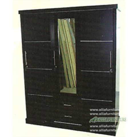 lemari pakaian minimalis 3 pintu dahlia