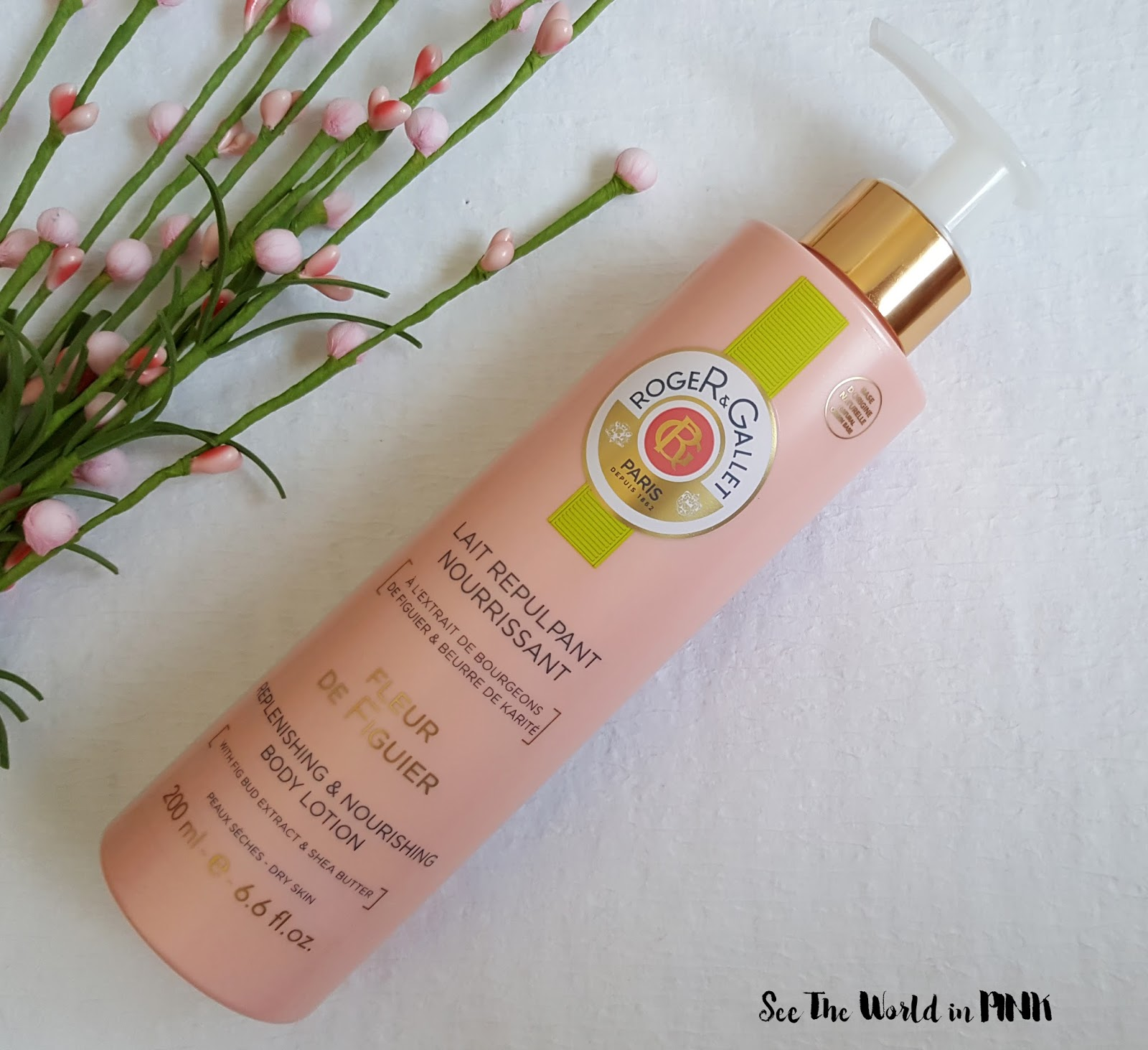 See The World In Pink July 2017 Biore Body Lotion Extra Rich Nourish 200ml Skincare Sunday Roger Gallet Fleur De Figuier Replenishing Nourishing
