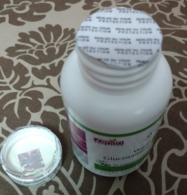Zenith Nutrition Vegan Glucosamine 500mg - 90 Veg capsules Review and Pictures
