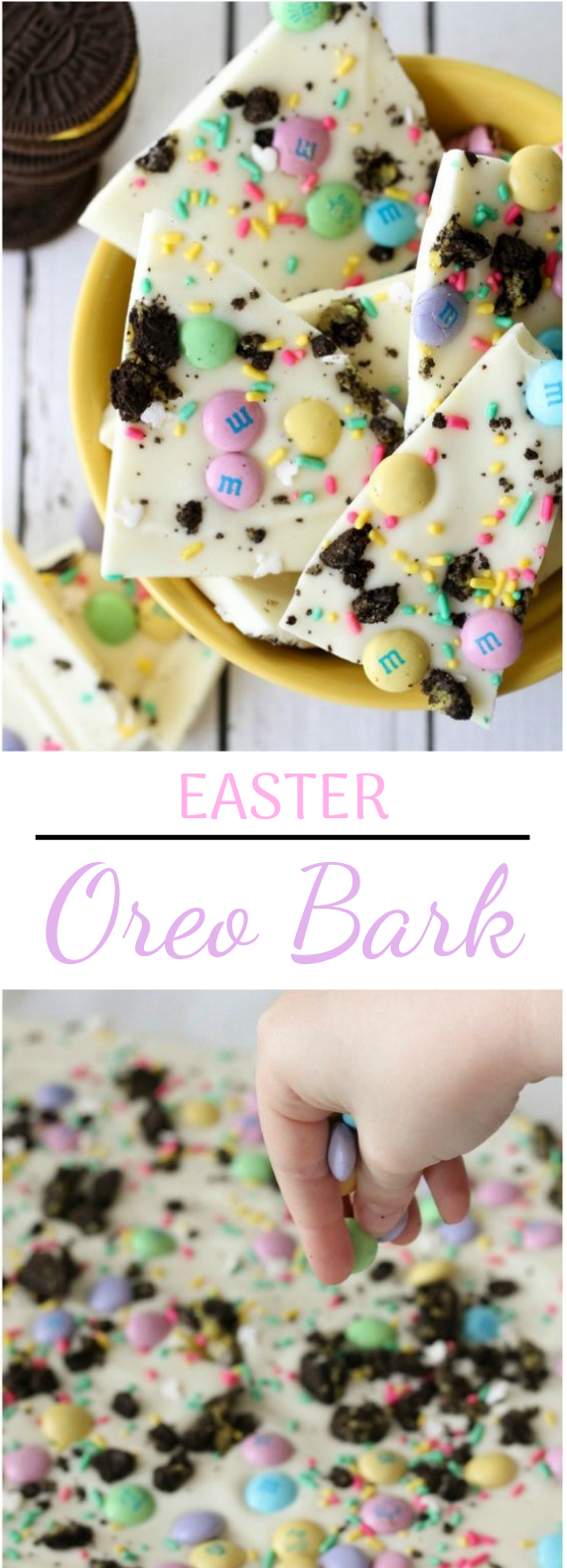 Easter Oreo Bark #desserts #sweettreat