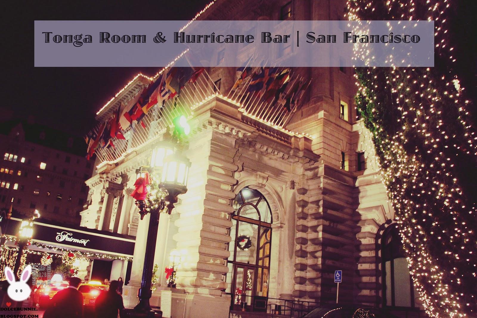 Tonga Room Amp Hurricane Bar San Francisco California Usa