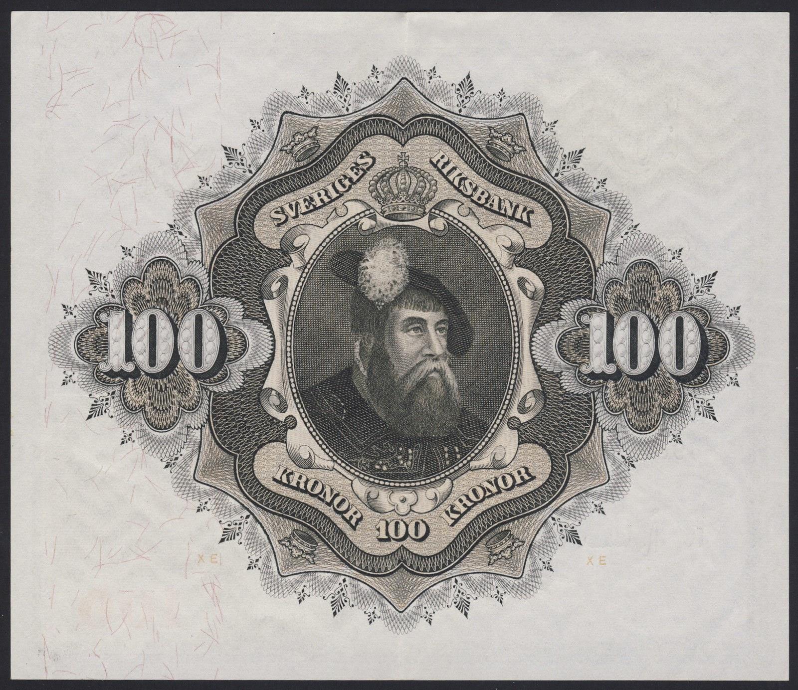 Sweden Banknotes 50 Kronor banknote 1950 King Gustav Vasa