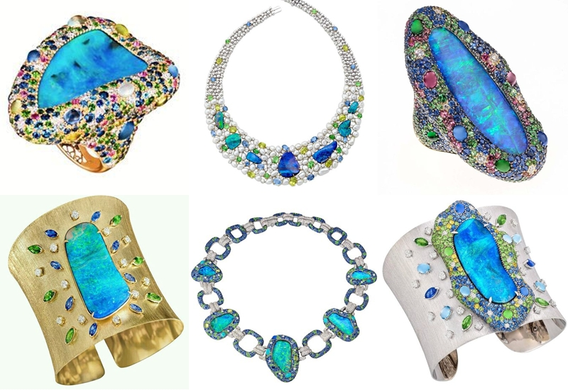Margot McKinney fine colorful gemstone jewelry designs