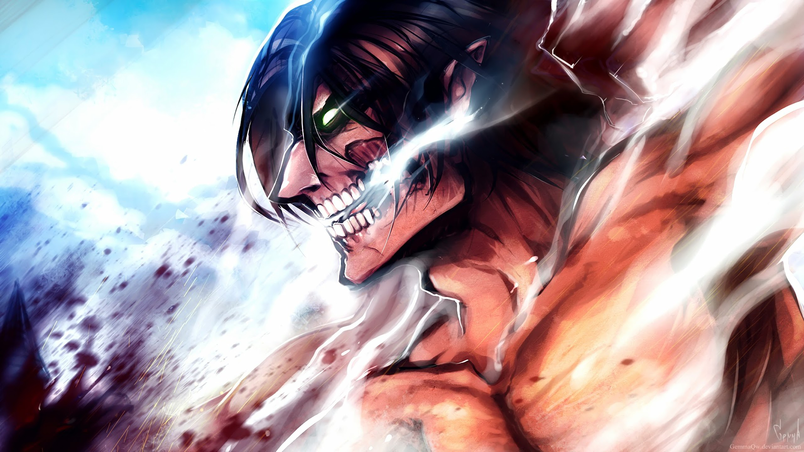 Attack Titan Attack On Titan 4k Wallpaper 172