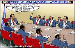 gudiga doorashada qaranka soomaaliyeed