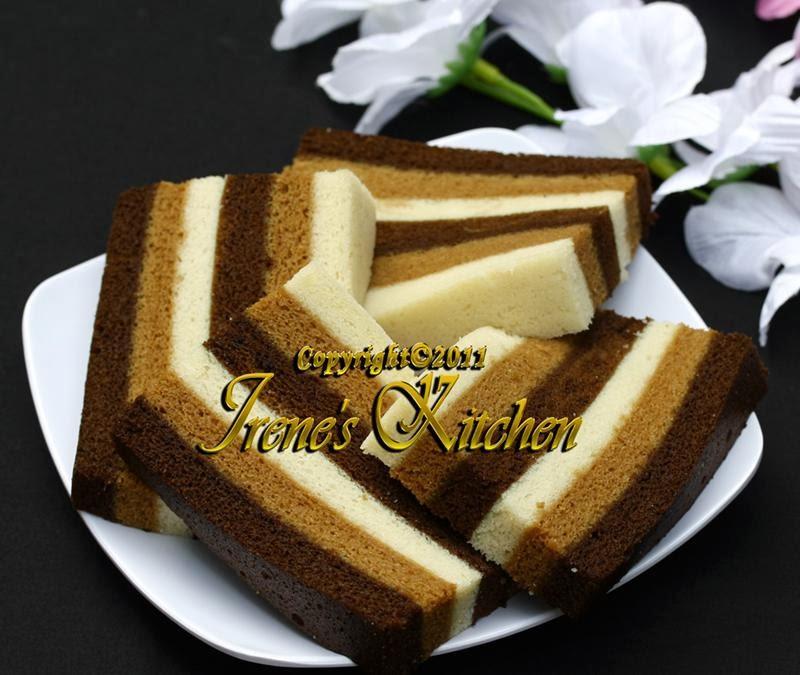 Irenes Kitchen Cake Putih Telur Capucino
