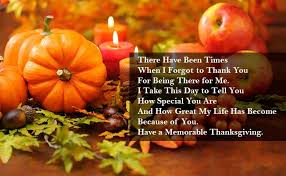 Thanksgiving messages 2017