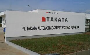 Lowongan Kerja Jobs : Staff Maintenance, Admin EXIM Lulusan Min SMA SMK D3 S1 PT Takata Automotive Safety Systems Indonesia