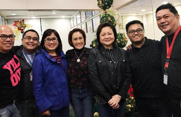 Aiai Delas Alas meets with Star Cinema executives to discuss 2017 movie