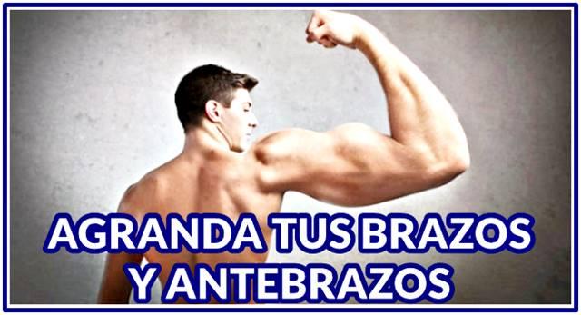 Consejos para aumentar el tamaño de tus brazos y antebrazos al extremo