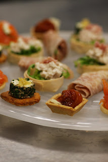 canapés at one great George street