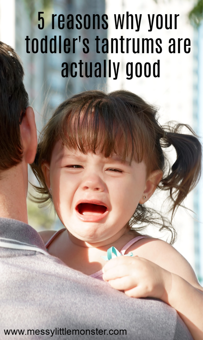 5 Reasons why Your Toddler's Tantrums are Actually Good