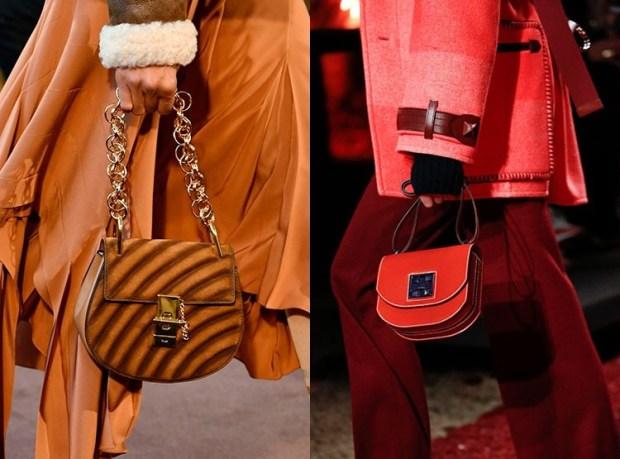 Fall-Winter 2018-2019 Women's Half-moon Purse Fashion Trends