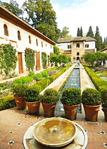 Generalife in Alhambra