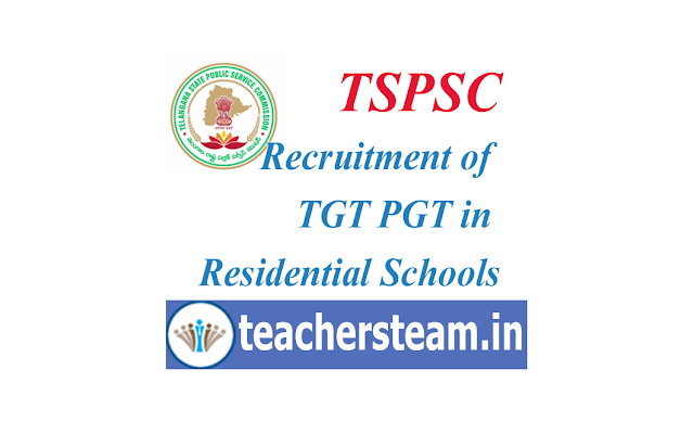 Recruitment of TGT PGT