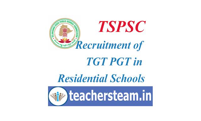 Recruitment of TGT PGT