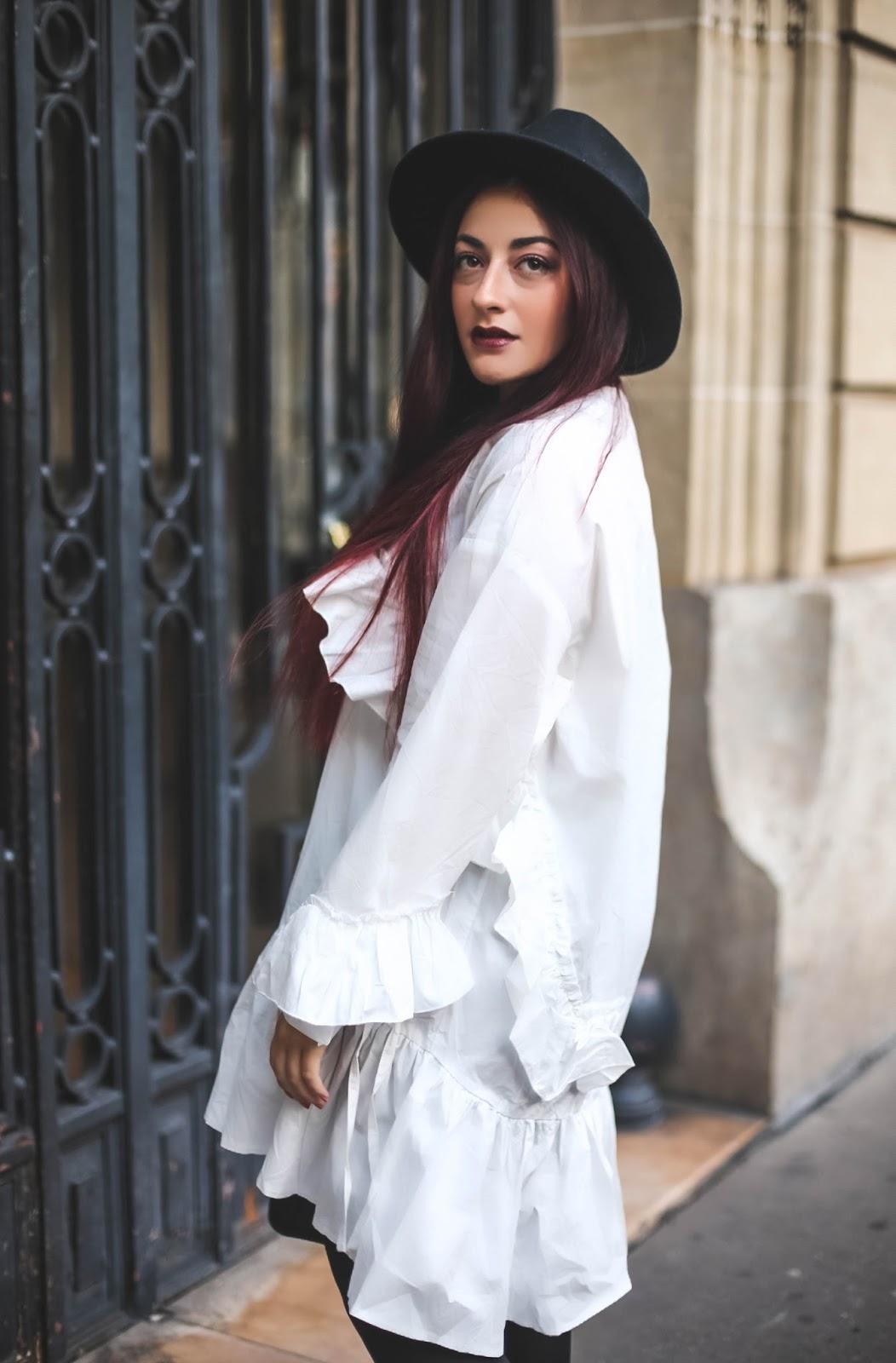 robe chemise oversize BLOG MODE