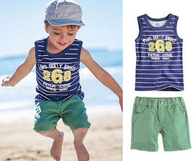 model baju anak laki-laki lucu