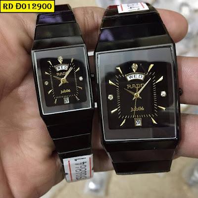 đồng hồ cặp đôi rado đ012900