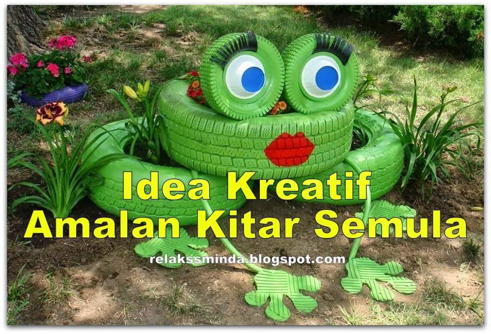 Idea Kreatif Amalan Kitar Semula
