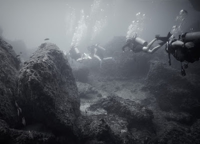 photo of scuba diving Koh Phi Phi Lee, with a Nikon Coolpix camera