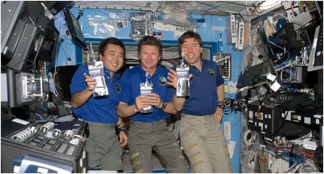 Astronaut Pee Recycled Into Sugary Drink