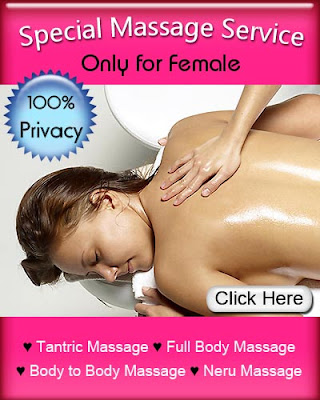 Special massage service only for female